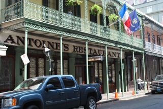 Eating Through History in Antoine's New Orleans