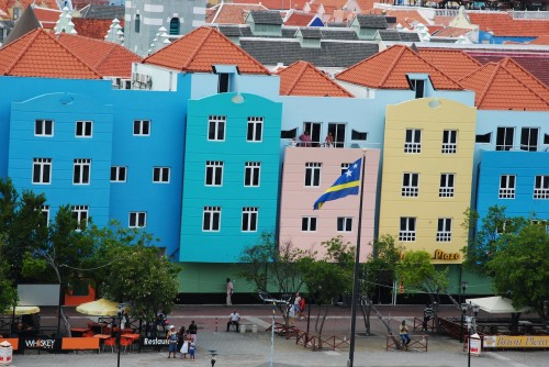 The Many Colors Of Willemstad Curacao