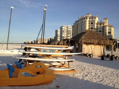 Marco Island Marriott beach