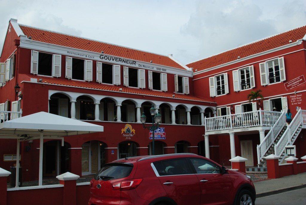 The Restaurant and Café Gouverneur de Rouville in Curacao
