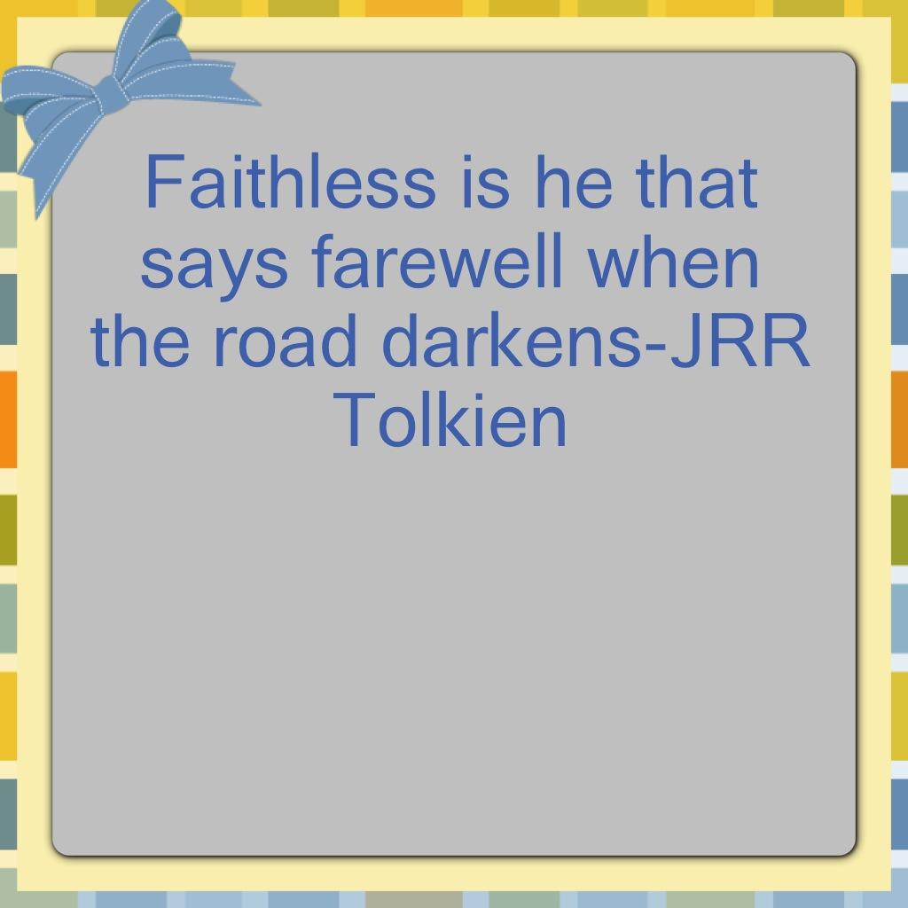 Faith Is…