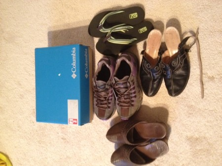 How Many Pairs Of Shoes For An Around The World Trip?