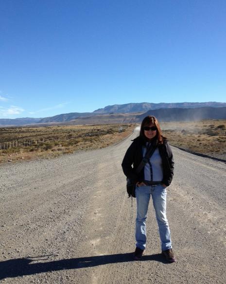 Claudia in Torres del Paine
