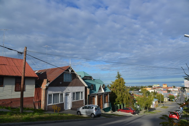 Colorful houses of Punta Arenas