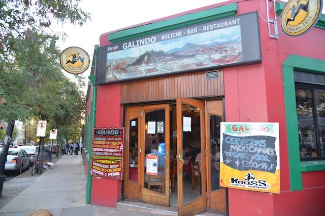 Entrance to Galindo