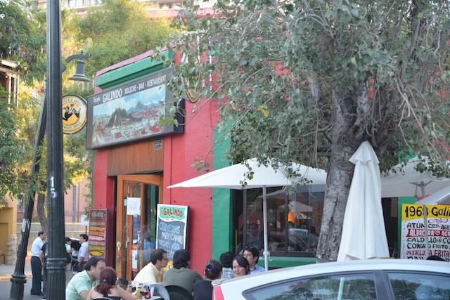 Galindo Restaurant diners