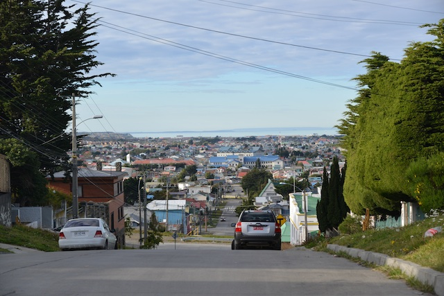 PUNTA ARENAS FROM THE HILL