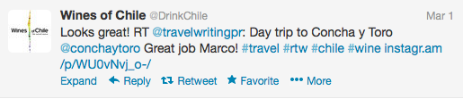 twitter wines of chile