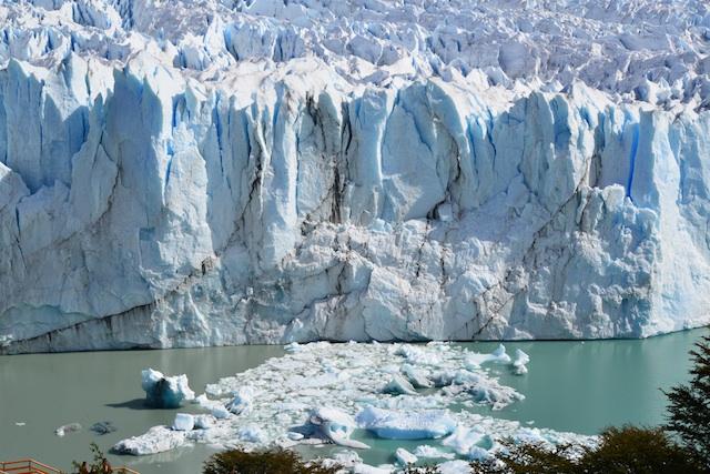Perito Moreno cracked iceberg