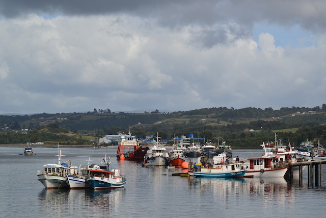 fishing village of Chiloe