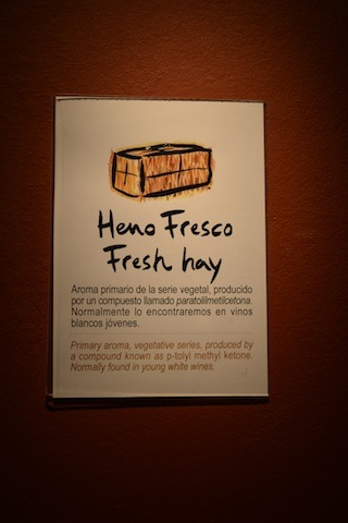 fresh hay smell