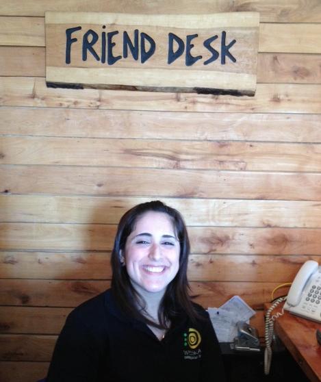 friend desk