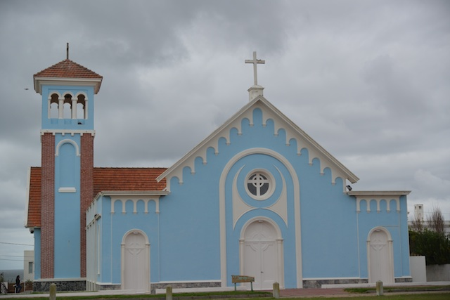 Church next to El Faro in Punta del Este