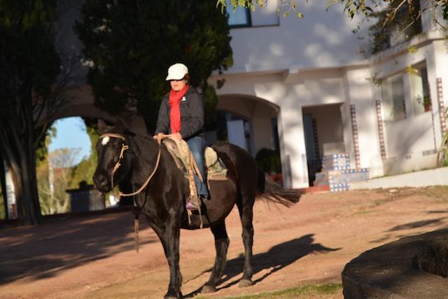 at the estancia