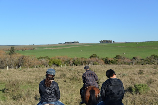 horseback riding in Uruguay