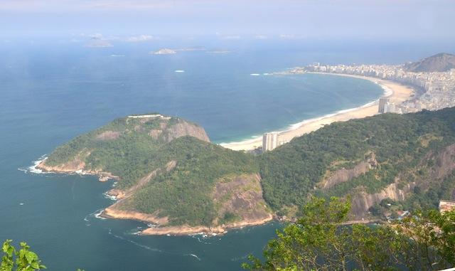 Two Sights In Rio de Janeiro