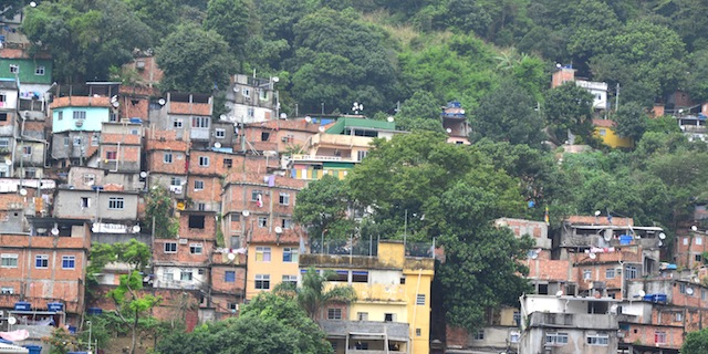 Favela: The Houses On The Hills in Rio de Janeiro