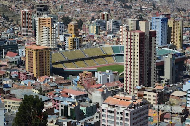 LA Paz stadium