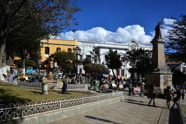 Potosi main square