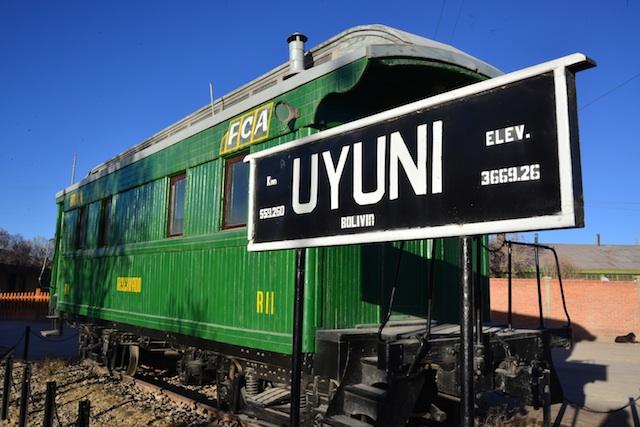 Uyuni railway station