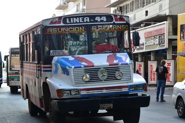 buses in Asuncion
