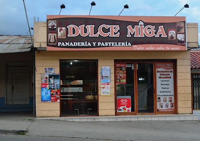 Bakery in Banos de Cuenca
