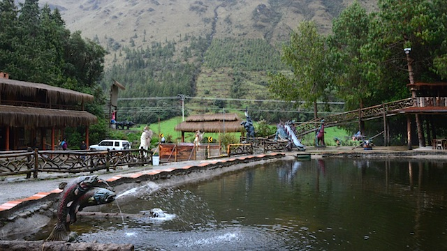 Fishing on a Rainy Day at El Cajas National Park