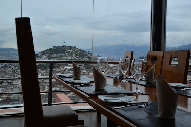 The Restaurant With a View in Quito: El Ventanal