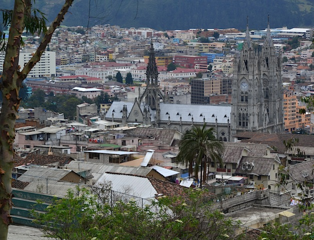 Running Out of Steam in Quito Ecuador
