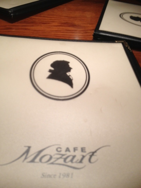 German Food in Washington DC – Cafe Mozart
