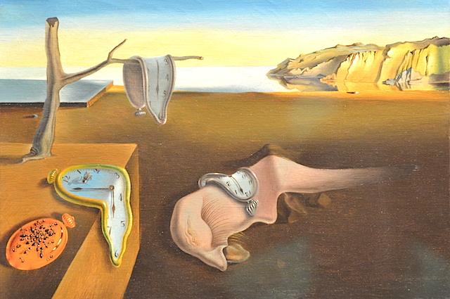 Dali's art in MOMA