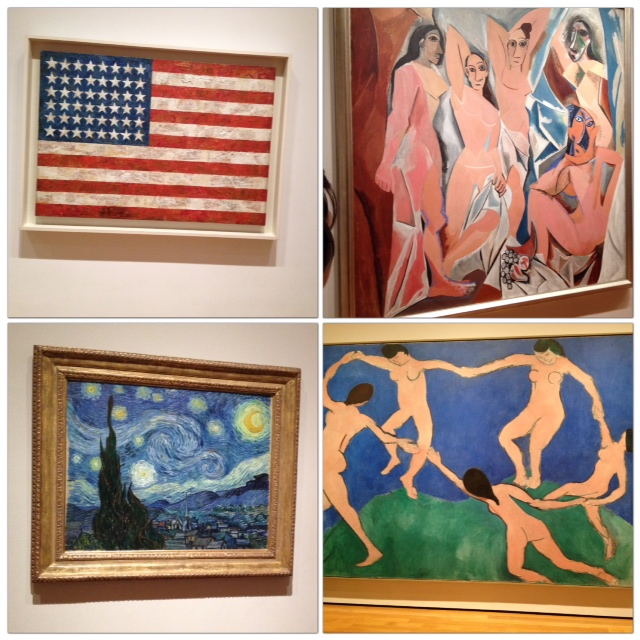 Famous artworks in MOMA