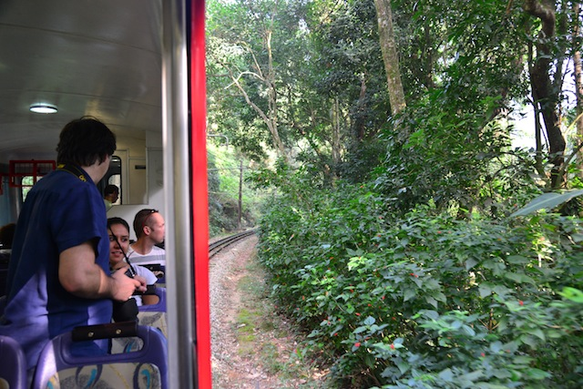 Train to Christ the Redeemer