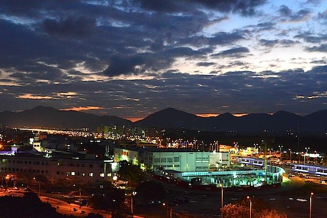 View from Barra Bali condominium in Barra de Tijuca