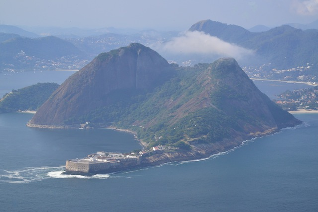 View from Corcovado (Christ the Redeemer)