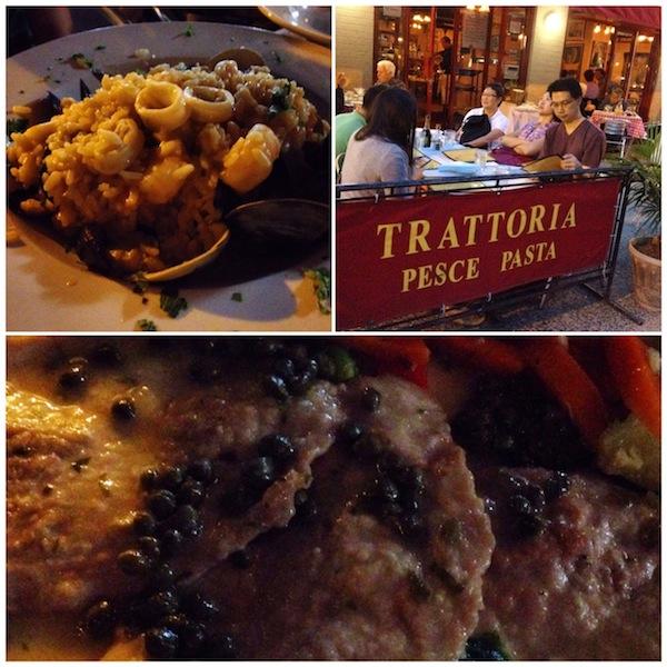 Italian restaurant in Upper West Manhattan