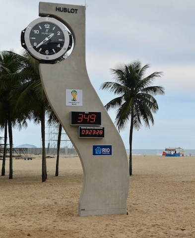 Countdown to World Cup 2014 -Copacabana.