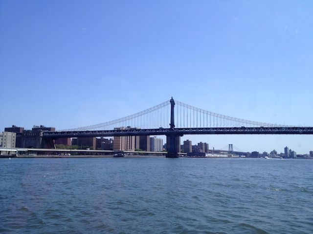 Manhattan Bridge and Williamsburg Bridge
