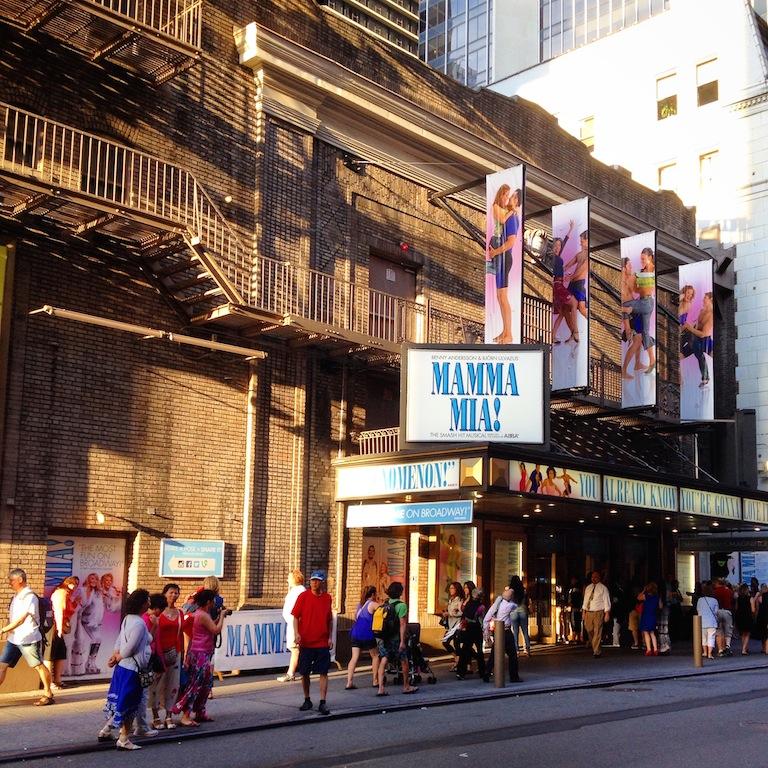 Mamma Mia Broadhurst Theatre