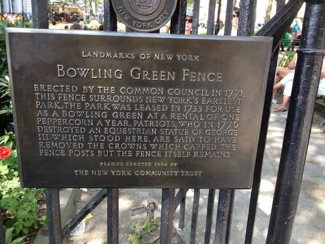 Bowling Green Park
