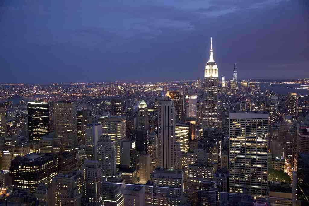 Top of The Rock- Rockefeller Center New York City