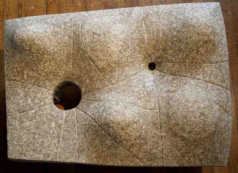 Lunar Table - granite 1961-65