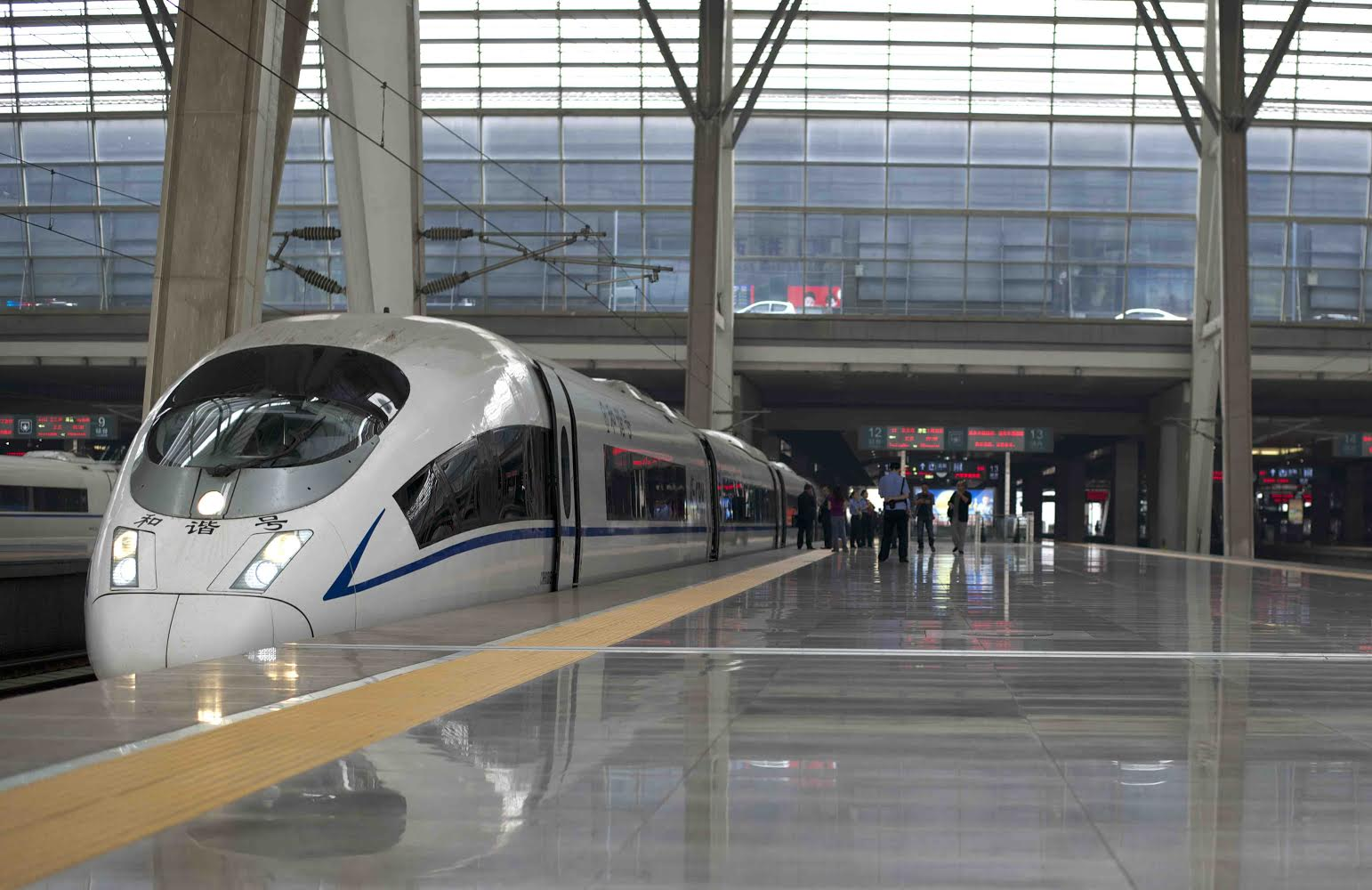 High Speed Train Beijing to Shanghai