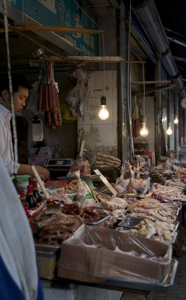 Shanghai Local Wet Market - Claudia Looi
