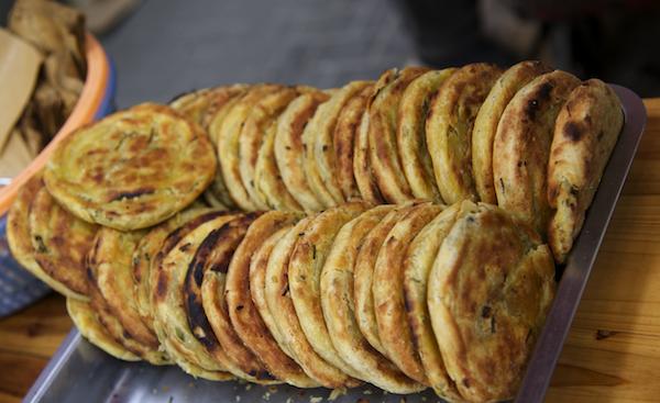 Cong You Bing - Scallion pancakes