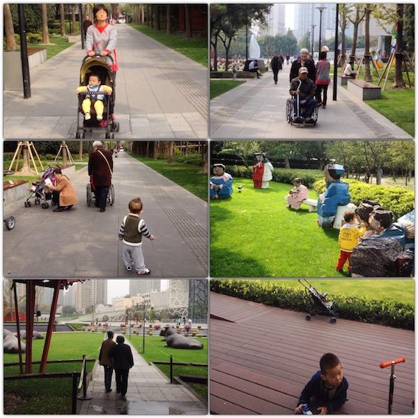 Locals in the park