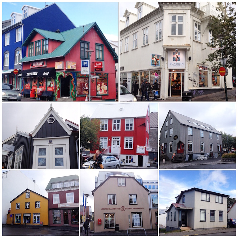 Colorful Snapshots of Reykjavik Iceland