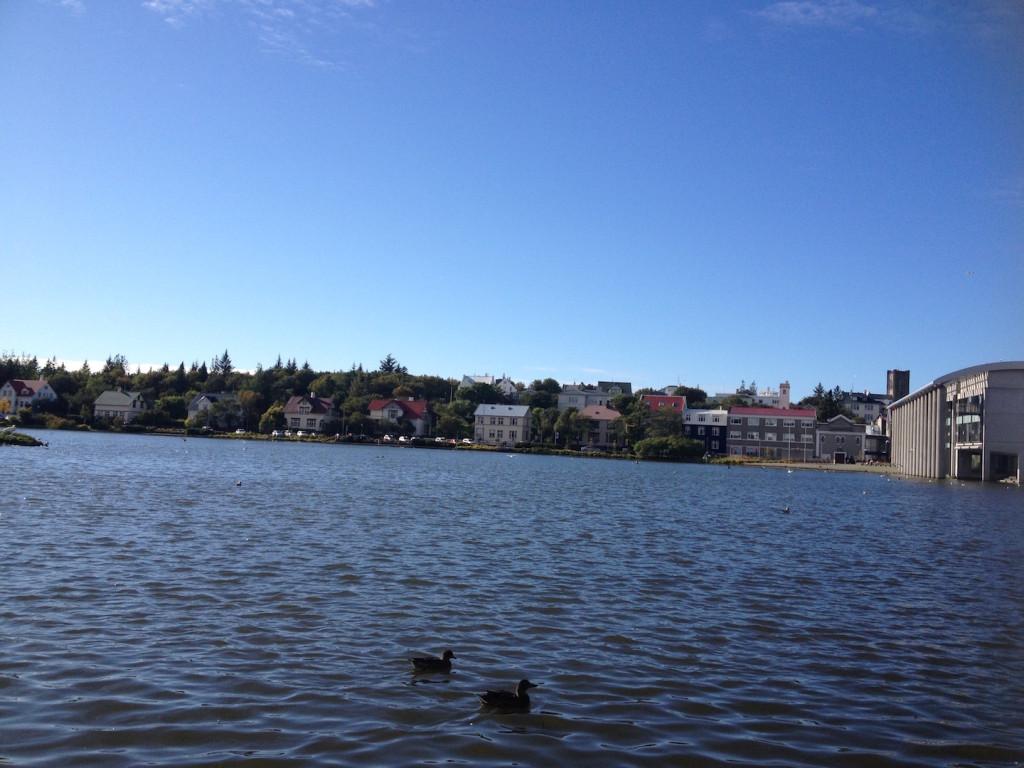 Tjornin Lake