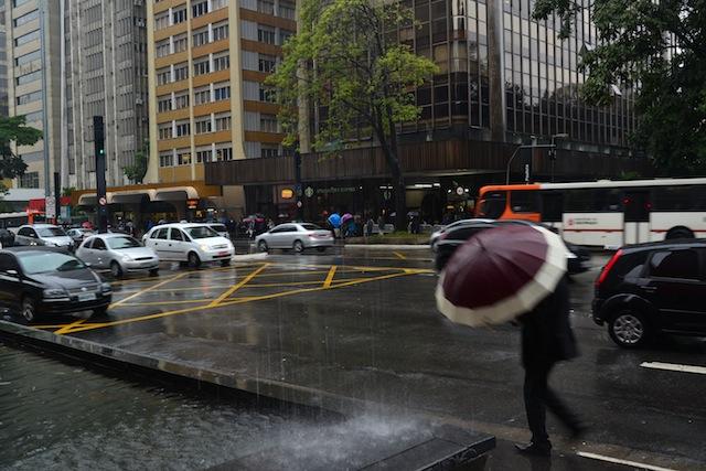 rain in Sao Paulo