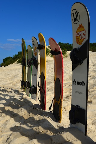 Sandboards for hire